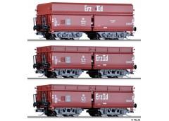 "set 3 vagoane hooper ""Erzzug 2"" DB - TT TILLIG 01735"