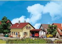 casa cu gradina de zarzavat - H0 FALLER 131358