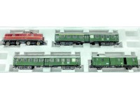 "set ""tren calatori"" cu locom. BR 280 digitala DB - H0 TRIX 21336"