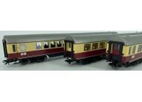 set 3 vagoane calatori TEE Bavaria - H0 TRIX 23427