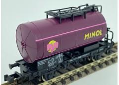 """vagon cisterna """"MINOL"""" DB - N ROCO 25253"""