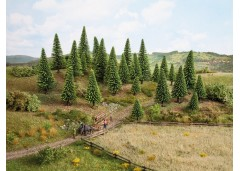 set arbori brazi cu inaltime mare - TT/H0 NOCH 26822