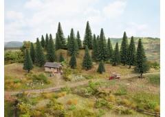 set arbori brazi cu pin plantare - H0/TT NOCH 26930