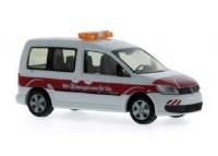 auto Volkswagen Caddy Bus ´11 Braunschweiger Verkehrs-GmbH - H0 RIETZE 31818