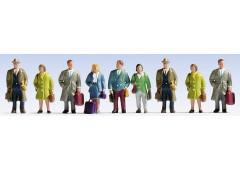 """set figurine """"pasageri"""" - N NOCH 36220"""