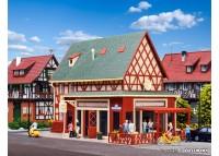 """restaurant pizzerie """"La Luigi"""", cu iluminat interior - H0 VOLLMER 43681"""