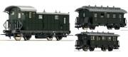 set 3 vagoane calatori DRG - H0 FLEISCHMANN 481805