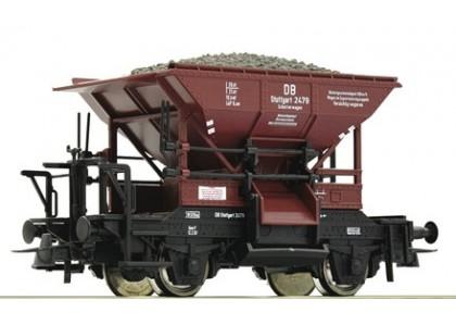 """gondola """"Talbot"""" incarcat cu balast DB - H0 ROCO 51159.v"""