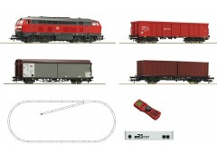 startset digi z21 cu loco clasa 218 tren marfa DB -H0 ROCO 51312