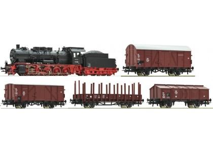 startset digital z21 cu loco clasa 057 tren marfa DB - H0 ROCO 51318