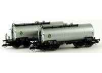"""set 2 vagoane cisterna """"EVW Schwedt"""" DR - TT KUEHN 51534"""