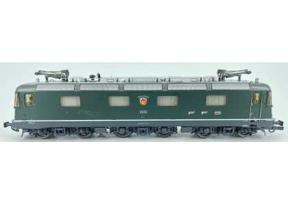 locomotiva electrica Re 6/6 SBB CFF - H0 ROCO 63730