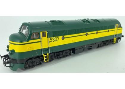 "locomotiva diesel Rek 52 ""Nohab"" SNCB - H0 ROCO 63962 - Digitala"