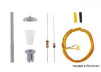 kit lampa stradala - H0 VIESSMANN 6721