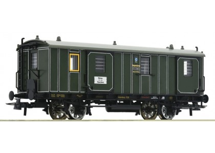 vagon de bagaje K.Bay.Sts.B - H0 ROCO 74902