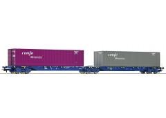 vagon dublu portcontainer RENFE - H0 ROCO 76641