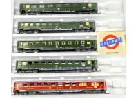 garnitura 5 vagoane calatori DB - H0 LILIPUT 834