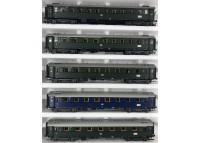 garnitura 5 vagoane calatori DB - H0 LILIPUT 843