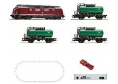 "startset digi z21 cu BR 220 ""tren cisterne"" DB - H0 ROCO 51290"