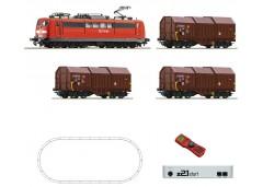 startset digital Z21 cu locom 151 tren marfa DB - H0 ROCO 51293