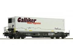 vagon portcontainer SBB - H0 ROCO 76743